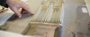 Imatge virtual del nou orgue de Valls.