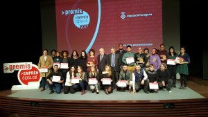 Tots els guanyadors dels Premis Emprèn de la Diputació de Tarragona.