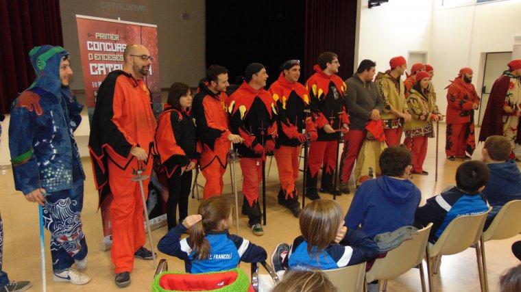 La presentació també ha comptat amb la participació de nou colles participants.