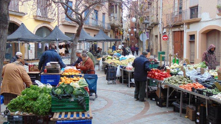 El crit d 39 auxili del mercat de la fruita i la verdura de valls - El mercat de les glories ...