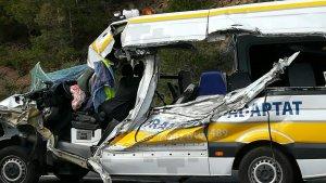 L'accident ha tingut lloc poc abans de les cinc de la tarda.