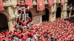 Les dues colles castelleres de Valls representaran una de les principals manifestacions de cultura popular catalana.