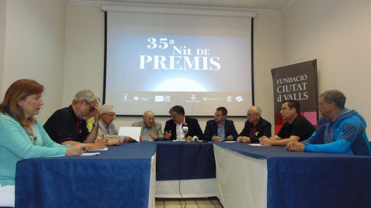Aquesta tarda s'ha fet la presentació del cartell de guardonats de la Nit de Premis de Valls.
