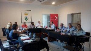 Durant la reunió es van comentar les novetats del pacte així com l'estat dels projectes en desenvolupament