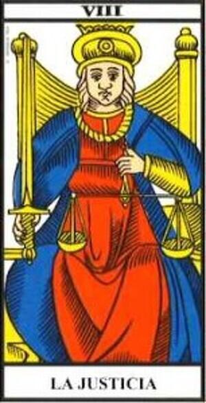 Arcano Mayor: VIII La Justicia