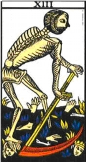 Arcano Mayor: XIII La Muerte