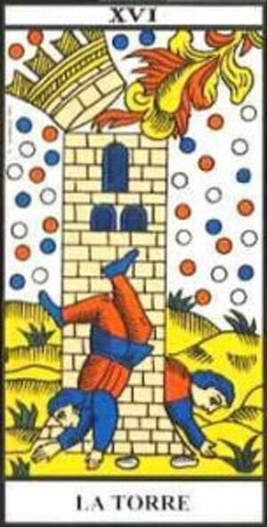 Arcano Mayor: XVI La Torre