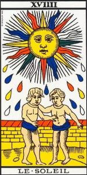 Arcano Mayor: XVIIII El Sol