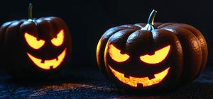 Calabazas talladas en Halloween
