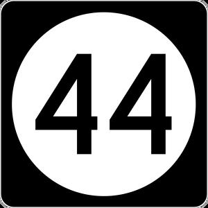 El número cuartenta y cuatro