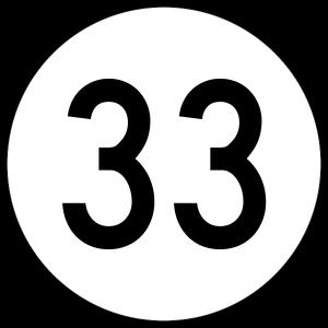 El número treintaitrés