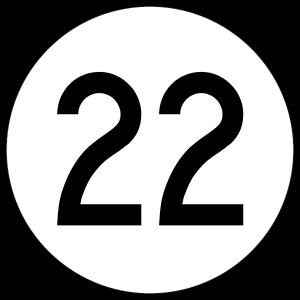 El número veintidós