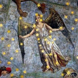 La constelación de virgo y su representación