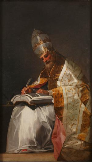San Gregorio Magno, Goya
