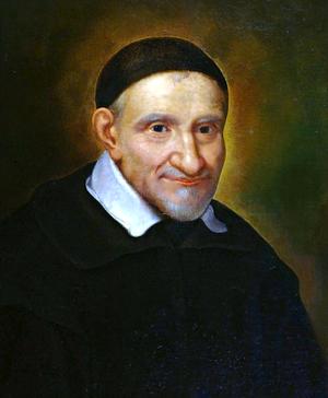 San Vicent de Paúl, de Simon François de Tours