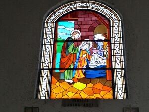 Vitral de Nuestra Señora de la Natividad