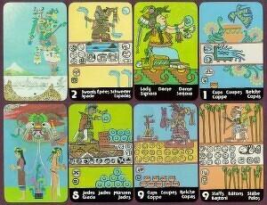 Tarot Maya (Tarot Xultún) del 1976, de Peter Balin