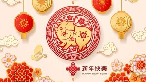 Chinese Horoscope 2019 - Year of the Pig.