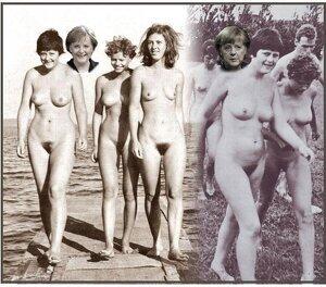 Angela Merkel desnuda