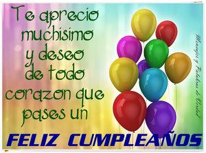 Feliz cumpleaños Whatsapp