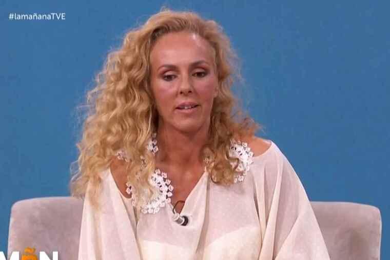 Rocío Carrasco en el programa 'Las mañanas de La 1'