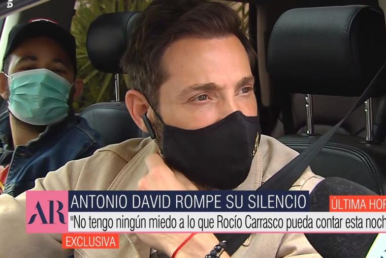 David Flores y Antonio David Flores en una conexión con 'El programa de Ana Rosa' el 7 de abril del 2021