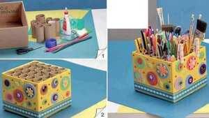 Caja para Útiles Escolares