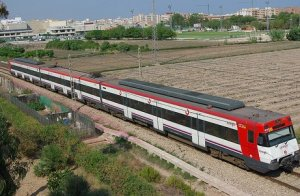 Tren Renfe Rodalies.