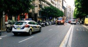 Vehicle de la Policia Local de València