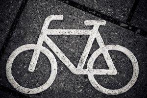 Imatge que simbolitza els ciclistes morts