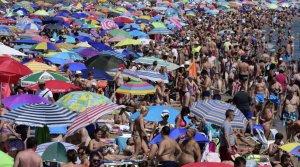 La platja de la Malvarosa
