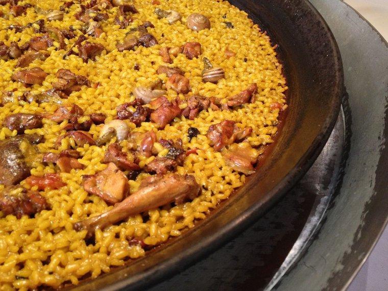 Paella a Paco Gandia