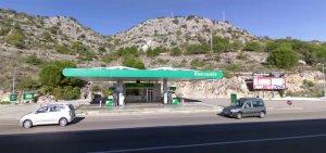 Imatge de la gasolinera