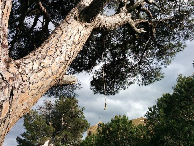 Des del darrere de l'Ermita de Sant Pere del Puig