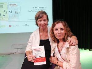 Jenny Erpenbeck i Marta Pera, a La Setmana del Llibre en Català