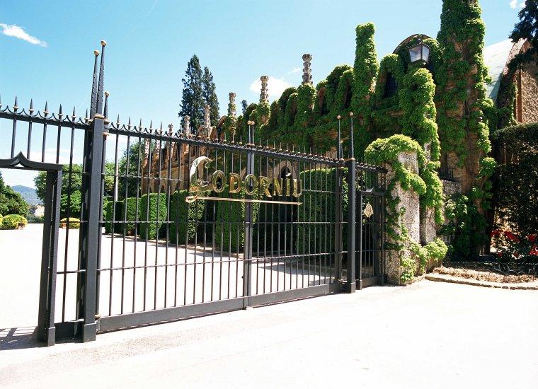 Porta d'entrada a la Codorníu actual