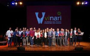 Guanyadors dels Premis Vinari 2016