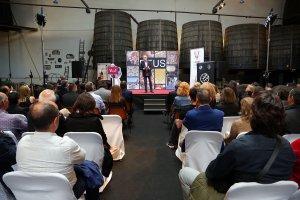 Toni Albà presentant la gala de lliurament dels Premis Vinari dels Vermuts 2017