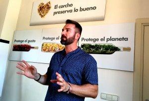 Albert Hereu és el director de l'Institut Català del Suro