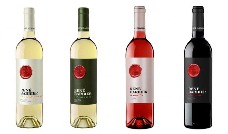Gamma dels vins de René Barbier