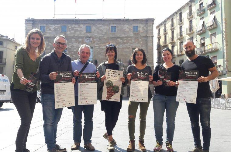 Grup dels participants a la iniciativa Nocturna Vinum del Bages