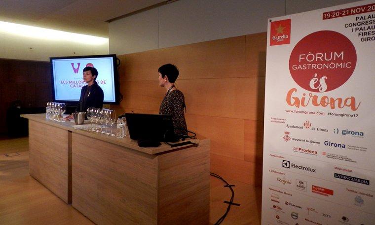La sessió ha estat presentada per la directora dels Premis, Eva Vicens