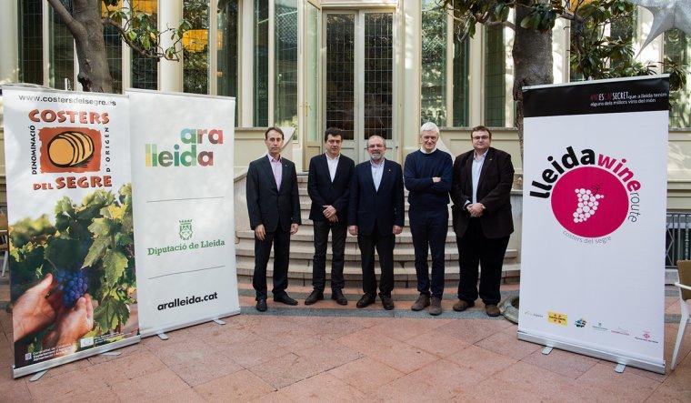 Les novetats de la Ruta del Vi de Lleida s'han presentat al restaurant El Principal de l'Eixample, a Barcelona