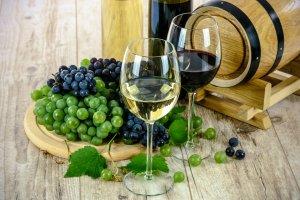 Copes de vins i raïm