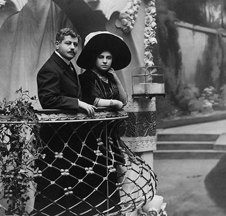 El matrimoni Ferrer Sala de Freixenet
