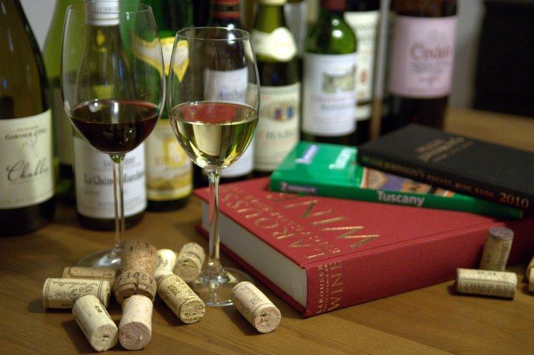 Llibres i vi