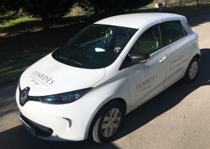 La DO Penedès ha adquirit un cotxe elèctric