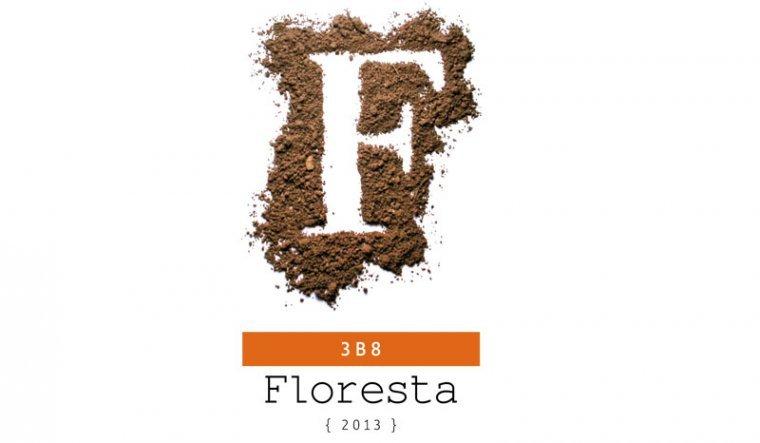 Etiqueta del Floresta 3B8 del celler Pere Guardiola