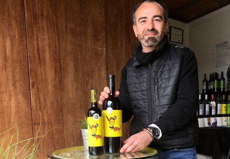 Xavier Canals és el gerent del celler Baronia del Montsant