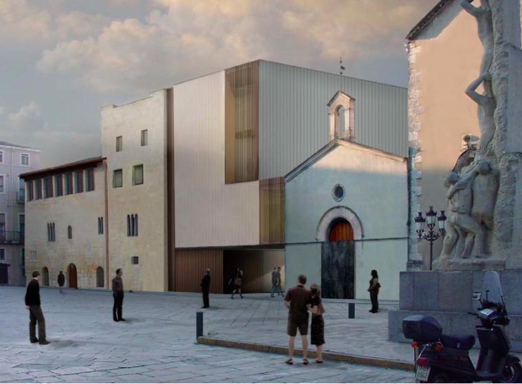 Imatge del projecte de reforma del Vinseum